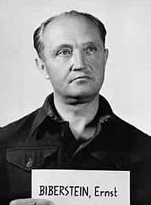 Ernst Biberstein en 1945