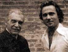 Mengele et son fils Rolf au Brésil en 1977