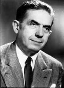 Edmond Michelet (1899-1970. Déporté à Dachau du 15 septembre 1943 jusqu'à la libération du camp, le 29 avril 1945