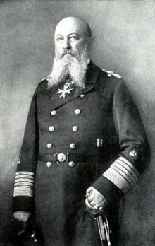 Großadmiral Alfred von Tirpitz (1849-1930)
