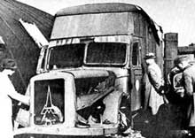 Les camions à gaz, instruments de mort pour l'opération T4