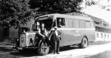 Camion à gaz