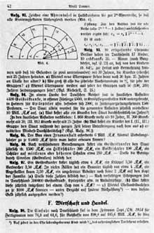Les théories eugénistes pénètrent jusque dans les manuels scolaires: ainsi l'exercice N°95 de ce livre de calcul est éloquent: «La construction d'un asile d'aliénés coûte 6 millions de Reichsmarks. Combien aurait on pu construire d'appartements à 15000 Reichsmarks l'appartement avec cette somme?»