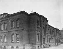 Hadamar: l'immeuble principal de l'institut
