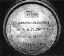 Hartheim: une urne