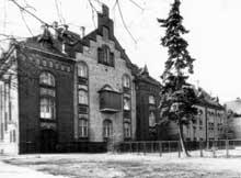Meseritz-Obrawalde en 1945