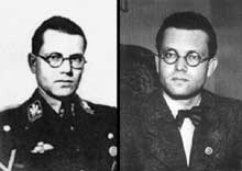 Le Reichsleiter Philipp Bouhler, chef de la Chancellerie du Führer