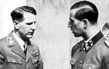L�onardo Conti (� gauche) et Karl Brandt