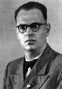 Hans Bertha durant la guerre