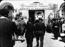 La LVF, légion des volontaires français. Beaucoup mourront dans les steppes glacées