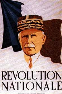 Vichy : mise en place progressive de la révolution nationale : « Travail, Famille, Patrie…
