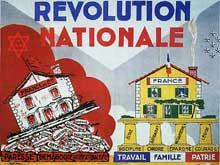 Vichy : la révolution nationale en marche : elle sera nécessairement antisémite