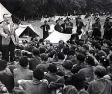 Un chantier de jeunesse en 1942