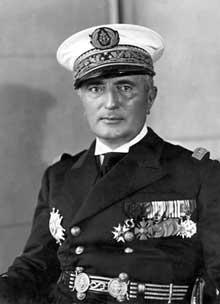 L'amiral François Darlan