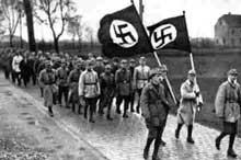 1922 : une marche de la SA