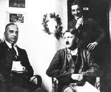 1923, prison de Landsberg. <a class=