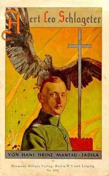 Héros du nazisme naissant, Albert Leo Schlageter, exécuté par les Français en mai 1923