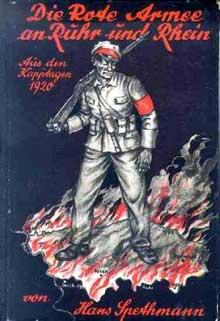 Affiche de la droite allemande soutenant le putsch de Kapp et fustigeant le communisme