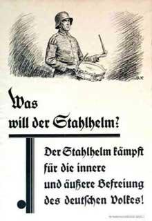 Affiche de propagande du Stahlhelm