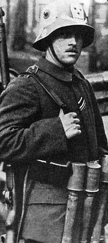 Un membre du « Freikorps Baltikum »