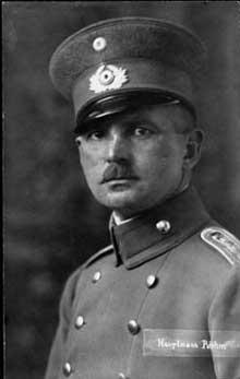 Ernst Röhm en 1918