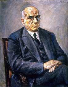 Otto Braun (1872-1955) par Max Liebermann