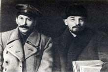 Staline et Lénine