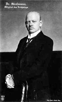Gustave Stresemann (1878-1929)