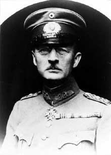Le général Otto von Lossow (1868-1938)