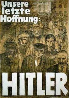 Affiche pour les élections de 1932 : « Notre dernier espoir, <a class=