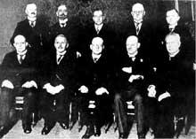 Le second cabinet Luther, constitué en janvier 1926