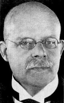 Le chancelier Wilhelm Marx (1863-1946)