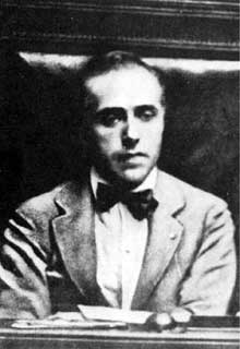 Le secrétaire général du parti socialiste Giacomo Matteotti (1885-1924