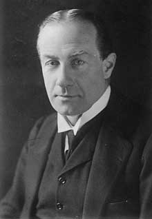 Le premier ministre Stanley Baldwin (1867-1947)
