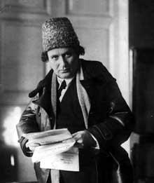 Grigori Zinoviev (1883-1936). Opposant à Staline, il disparaîtra en 1936