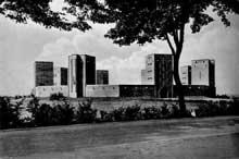 Le monument de la bataille de Tannenberg