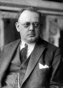 Le chancelier Hermann Müller (1876-1931)