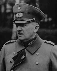 Le général Kurt Von Schleicher (1882-1934)
