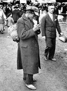Photographie de Walter Ballhause de la série « Chômage ». 1929-1930