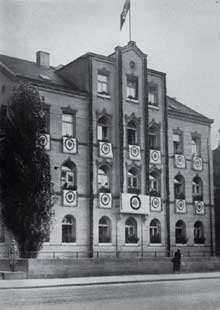La « Maison Brune » à Berlin