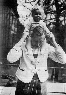 Heydrich et son fils à Munich