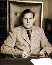 Baldur Benedikt Von Schirach, « patron » de la Jeunesse hitlérienne