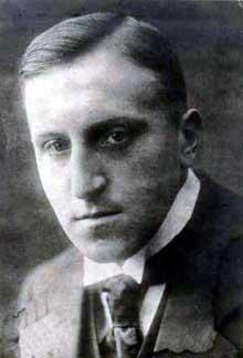 Carl Von Ossietzky. Photographie de 1915
