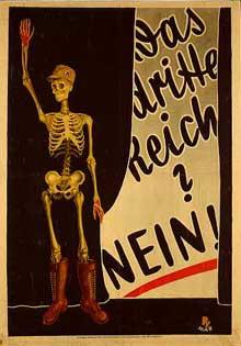 Affiche électorale du SPD contre <a class=