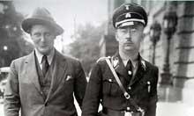 Herrmann Goering et Heinrich <a class=