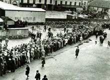 Chômeurs à Hanovre