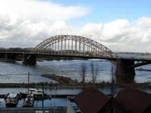 Le Rhin à Nimègue