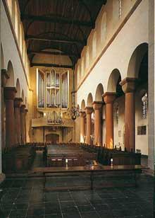 Utrecht: l'église saint Pierre