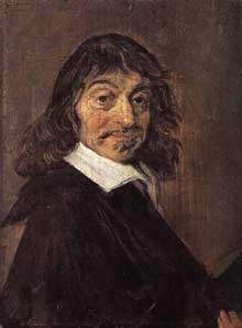 Frans Hals: portrait de René Descartes. Vers 1649. Huile sur bois, 19 x 14cm. Copenhague, Statens Museum for Kunst