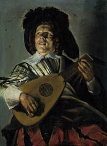 Judith Leyster: Sérénade. 1629. Huile sur panneau, 46 x 35 cm. Amsterdam, Rijksmuseum